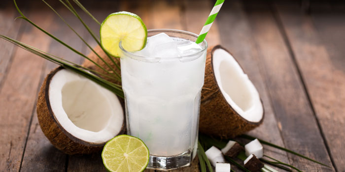 Coconut water and other potassium spirits