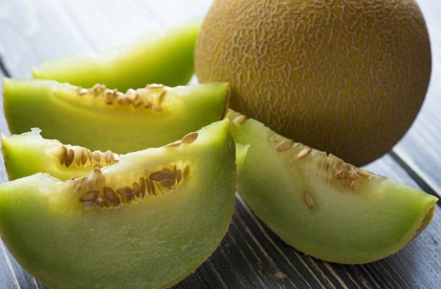 The melon and its seeds