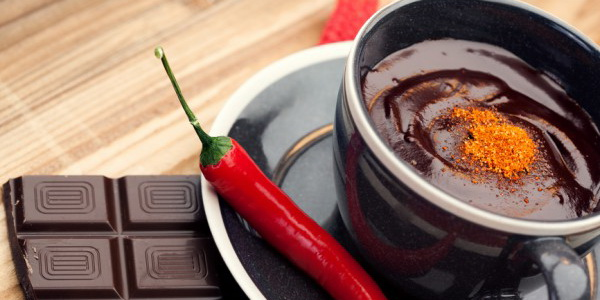 Hot! Do you like chocolate with chili?