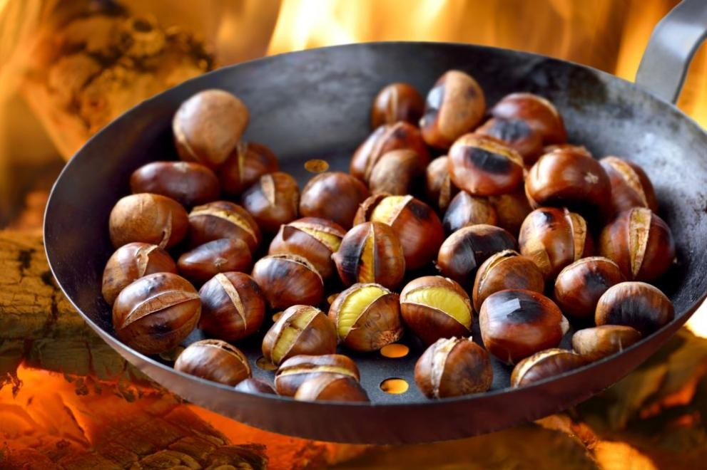 Chestnuts are extremely healthy