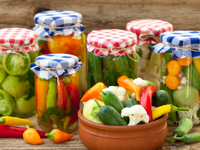 Traditional Bulgarian pickles