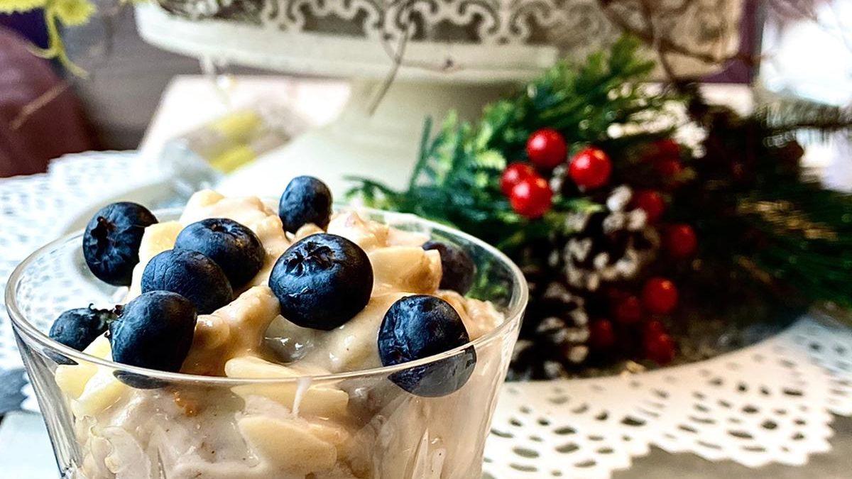 Ябълково парфе- десерт за зимния сезон